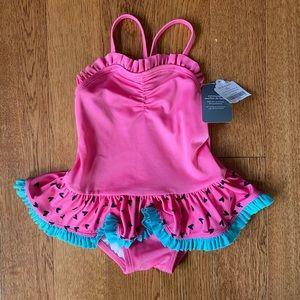 NEW SPF 50+ 12-18 months girls swimsuit